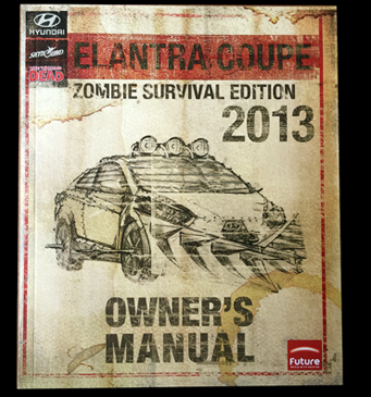 Comic-Con : Elantra Coupe Zombie Survival Edition